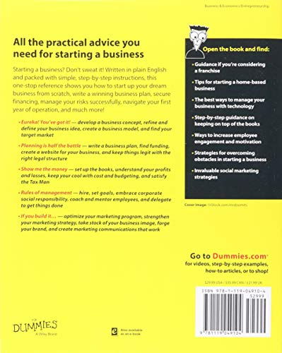 Starting-a-Business-All-In-One-For-Dummies