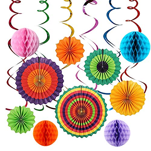 (Hanging Birthday Party Decorations)
