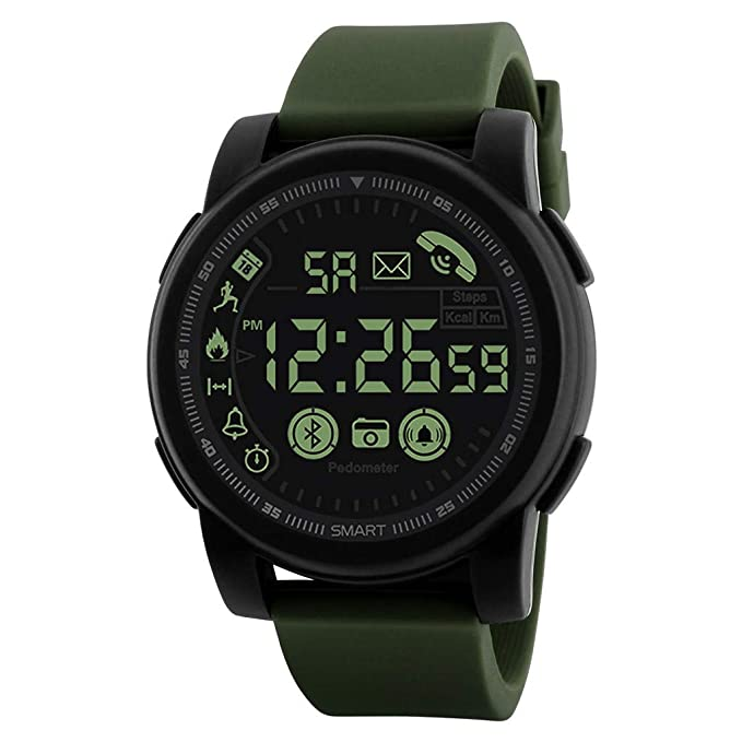 Amazon.com: Fxbar Mens Bluetooth Smart Watch for Android ...