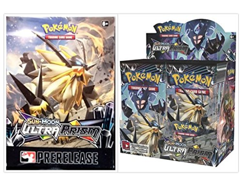 Pokemon Trading Card Game Sun & Moon Ultra Prism Booster Box and Ultra Prism Prerelease Kit Box Bundle, 1 of Each