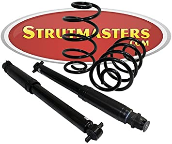 Rear Coil Over Shock Suspension Conversion Kit Compatible with 1994-1999 Cadillac DeVille