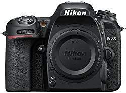 Image of the product Nikon D7500 DX Format that is listed on the catalogue brand of Nikon.