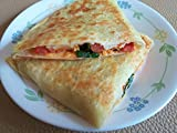 vegan quesadilla - Gifts Delight LAMINATED 32x24 inches Poster: Quesadilla Vegan Food Mexican Cheese Grilled Lunch Tomato Healthy Vegetable Gourmet Bell Peppers Fresh Fried