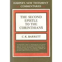 Second Epistle to the Corinthians: A Commentary