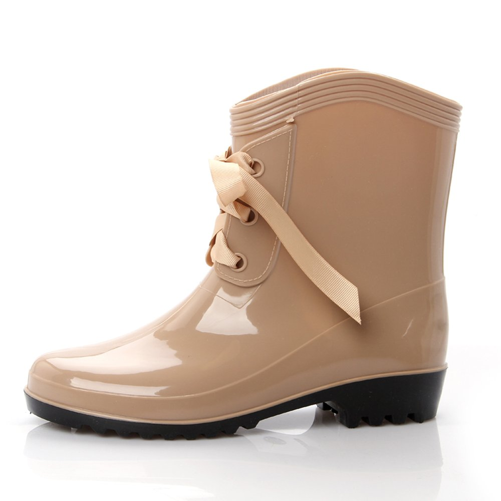 Retro Boots, Granny Boots, 70s Boots Short Rain Boots Waterproof Shoes Snow Boots  AT vintagedancer.com