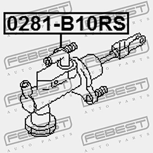 Cilindro de embrague principal. febest Color 0281-b10rs: Amazon.es: Coche y moto