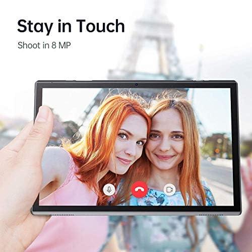VANKYO MatrixPad S10 10 inch Tablet, 2 GB RAM, 32 GB Storage, Quad-Core Processor, Android OS, 10.1″ IPS HD Display, Wi-Fi, USB Type C Port, GPS, FM, Slate Black 51G zXCSmkL