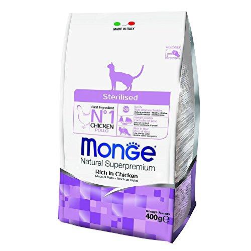 MONGE NATURAL SUPERPREMIUM Gato Esterilizado seco comida para gatos de primera calidad