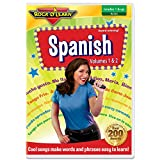 These catchy songs will have students speaking Spanish in no time. Kids easily learn useful vocabulary words and conversational phrases. Colorful, energetic performers entertain and motivate students of all ages. Delayed answers make it easy to check...