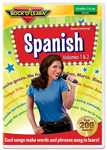 - Spanish DVD by Rock 'N Learn