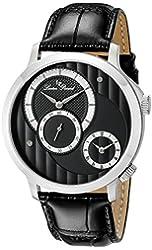Lucien Piccard Men's LP-10337-014 Messina Analog Display Quartz Black Watch