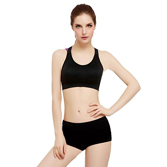 718dd7e173 FNKDOR Sport Gym Yoga Workout Bra