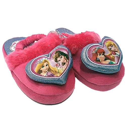 Toddler Girl's Disney Princess Slippers - Light Pink LRG (9/10)