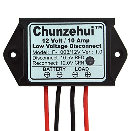 Chunzehui Low Voltage Disconnect Module LVD, 12V 10A, Protect/Prolong Battery Life. by Chunzehui