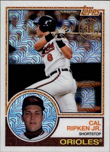 2018 Topps 83 1983 35th Anniversary Silver Pack Chrome #6 Cal Ripken Jr Baltimore Orioles