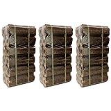 AMOS High Energy Ultra Dry Heat Logs Open Fire Eco Wood Log Fuel (36 Logs)