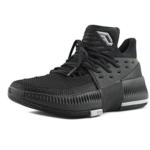 Adidas D Lillard 3 Youth US 5.5 Black Basketball - D&g Kids