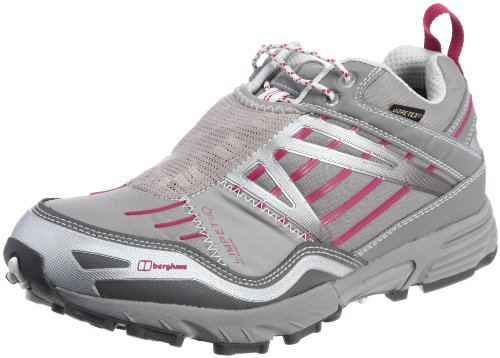 Berghaus Limpet Low GTX Tecnología Trail de Mujeres Entrenadores / Zapatos - Gris Grey