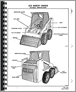 bobcat 632 skid steer loader parts manualbobcat 632 parts diagram #16