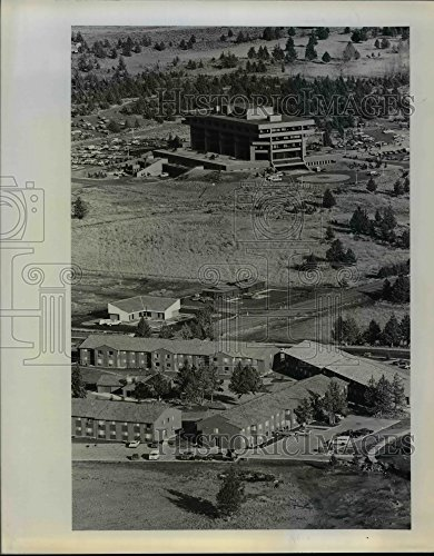 1978 Press Photo New supermarket shopping center goes up in Bend, - Bend Shopping Oregon In