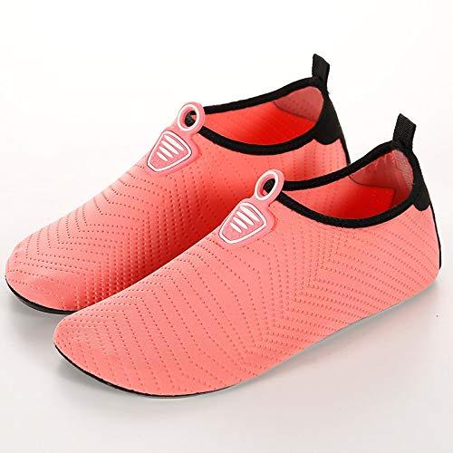 KUOHAI Mens/&Womens Water Shoes Barefoot Beach Pool Shoes、Quick-Dry Aqua Yoga Socks for Surf Swim Water Sport