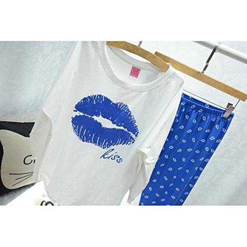 Dreamworldeu - Pijama - para mujer Sapphire Blue