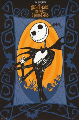 the nightmare before christmas poster jack new 24x36 - The Nightmare Before Christmas Poster