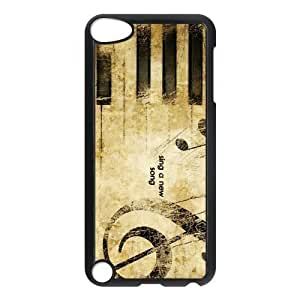 EVA Piano Keyboard iPod Touch 5 Case,Snap-On Protector Hard Cover for iTouch 5th hjbrhga1544
