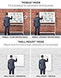 "Mobile Whiteboard 48"" x 32"" inch Magnetic Double"