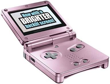 Gameboy Advance Sp (Pink): Amazon.es: Videojuegos