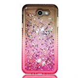 NEXCURIO Glitter Silicone Case for Galaxy J7 V/J7 SkyPro/J7 Perx, Shockproof Anti-Scratch Shock Absorption Protective Cover Case for Samsung Galaxy J7 2017 - NEYBO490212#4