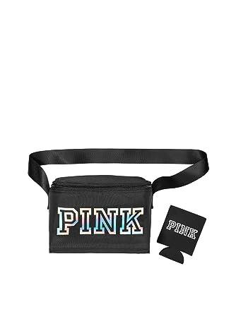 c568e0e627a88 Amazon.com: Victoria's Secret Pink Cooler Plus Coozie Color Black ...