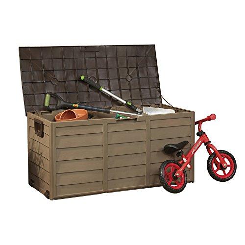 Garden Life Plastic Garden Storage Box Chest...