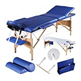 """Best GENERIC Massage Portable Tables - 3 Fold 84""""L Portable Facial SPA Bed Massage Review"""