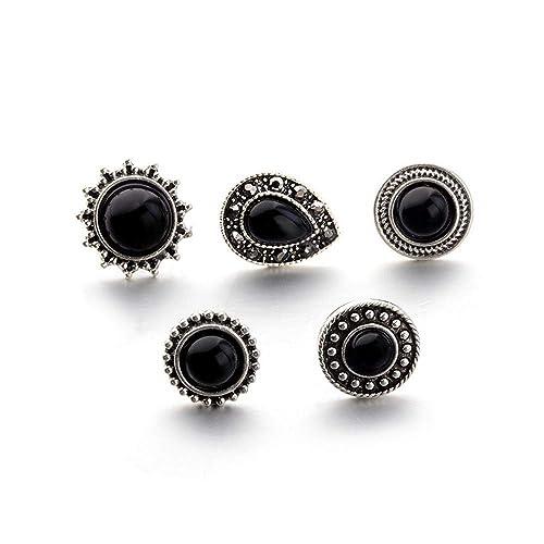 b5ca25c8f0011 Amazon.com: Toaimy Fashion Ear-Rings 1Set/5Pieces Jewelry Vintage ...