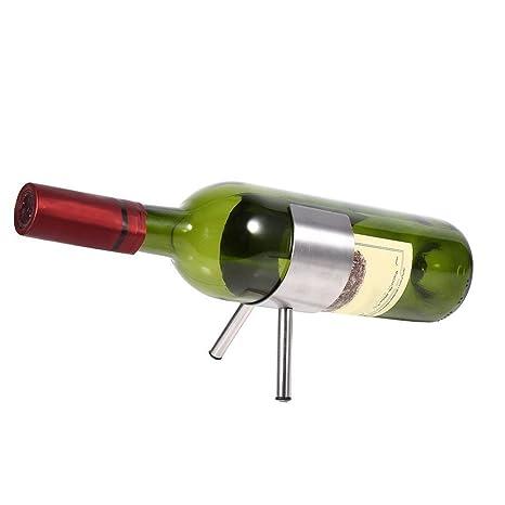 Yosoo Soporte Para Botellas De Vino De Acero Inoxidable De ...
