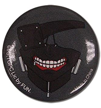 Gran entretenimiento oriental Tokio Ghoul Kaneki máscara botón