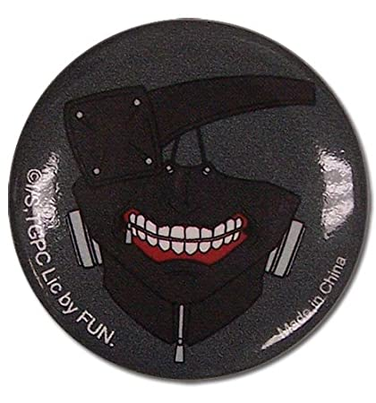 Great Eastern Entertainment Tokyo Ghoul Kaneki Mask Button