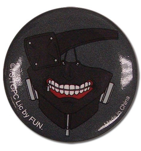 Great Eastern Entertainment Tokyo Ghoul Kaneki Mask Button