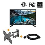 """3 in 1 HD LED TV Television 32"""" 720p IPS Panel with 6ft"""