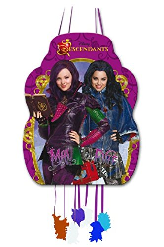 Disney Descendants Pull String Pinata by Verbetena