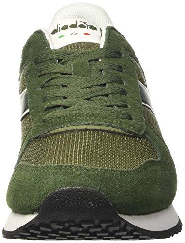 Diadora Malone - deportivas bajas Unisex adulto Verde (Verde Olivina/verde Fucile)