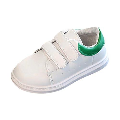 2f2175cd72 Btruely Sneaker Schuhe Baby Mode Mädchen Jungen Kleinkind Beiläufig Schuhe  Sportschuhe (21, Grün)