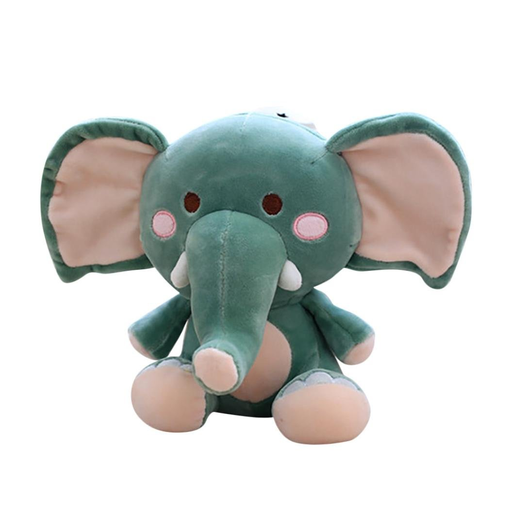 gbell大人子子供Elephant CuddleふわふわStuffed B07CRCZ6N4 Plush Animal Toys Kawaii応力Reliever Animal Toy Toys B07CRCZ6N4 グリーン, 豊平町:c7ec5456 --- webshop.mrf.se