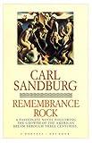 Remembrance Rock, Carl Sandburg, 0156763907