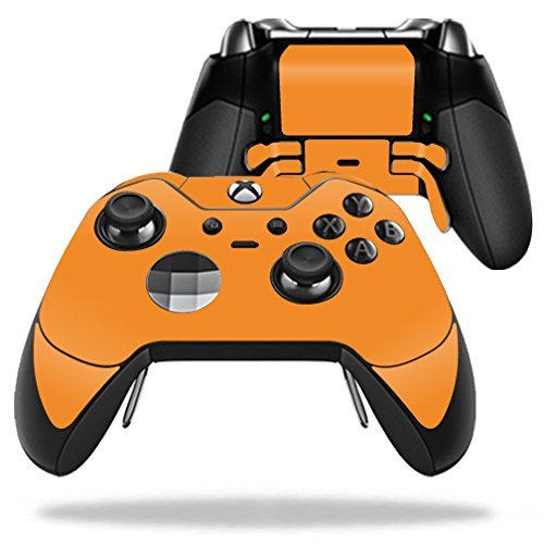 MightySkins-Protective-Vinyl-Skin-Decal-for-Microsoft-Xbox-One-Elite-Wireless-Controller-case-wrap-cover-sticker-skins-Solid-Orange