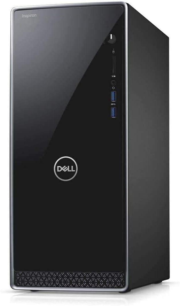Newest Dell Inspiron 3671 Premium Desktop Computer, 9th Gen Intel Quad-Core i3-9100 (Beats i7-7700T) 16GB DDR4 RAM, 1TB SSD. WiFi, HDMI Keyboard and Mouse MaxxAudio Windows 10 + Gift Mousepad