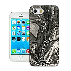LarryToliver Fitted iphone 5/5s Cases Customizable Black and white artwork pattern - Wholesale-