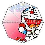 Diy Best 43.5 Inch Big Wallpaper Of Doraemon Rain Sun Umbrella