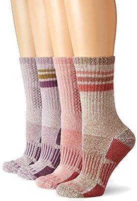 Carhartt Women's 4 Pack All-Season Boot Socks